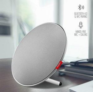Owlee AVIARY Bluetooth 4.0 Speaker with 360° HD Surround Sound, 22W Dual Bass, Modern Design with Next Gen Touch Controls