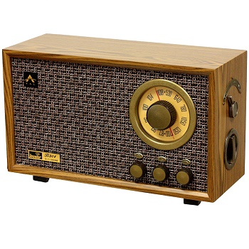 tesslor-r301-retro-style-tabletop-am-fm-hi-fi-radio-and-speaker