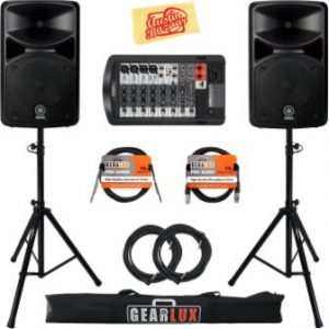 Yamaha STAGEPAS 400i Portable PA System Bundle