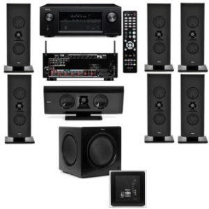 Klipsch Gallery G-16 7.1 Home Theater System-SW-310-Denon AVR-X2100W 7.2 Channel