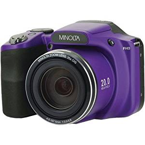 Minolta 20 Mega Pixels High Wi-Fi Digital Camera with 35x Optical Zoom