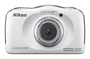 Nikon COOLPIX W100 13.2 MP Point Shoot Digital Camera, White