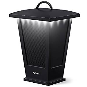 Pohopa Bluetooth Speaker Waterproof, Portable Outdoor Wireless Speaker with LED Strip Lights – Lantern Design