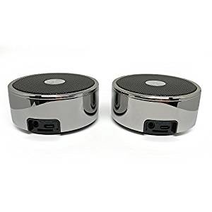 Long Run Technologies Twin Portable TWS Bluetooth Mini Stereo Speaker