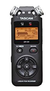 Tascam DR05 Stereo Portable Digital Recorder