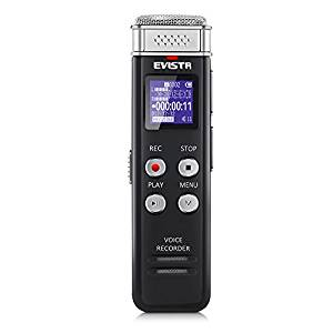 Upgraded Voice Recorder Evistr