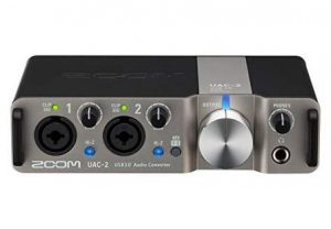 Zoom UAC-2 2-Channel USB 3.0 SuperSpeed Audio Interface