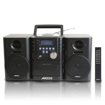AXESS MS3912 Mini Entertainment System