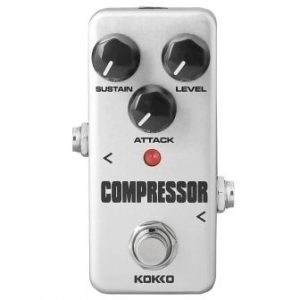 Acoustic Guitar Effect Pedal, Compressor (FCP2) from kokko