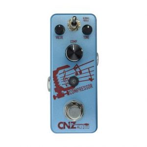 Audio Compressor, Compression Guitar Effects Pedal     from CNZ, True Bypass