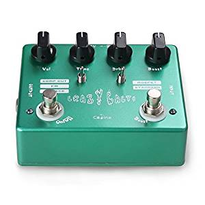 "Caline CP-20″Crazy Cacti"" Overdrive Guitar Effect Pedal"