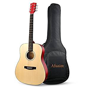 Full Sized Acoustic Guitar by Afuaim