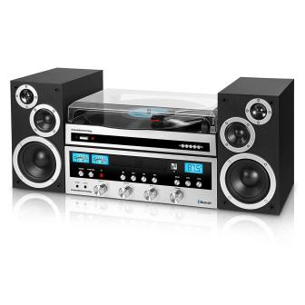 Innovative Technology Classic Retro Bluetooth Stereo System