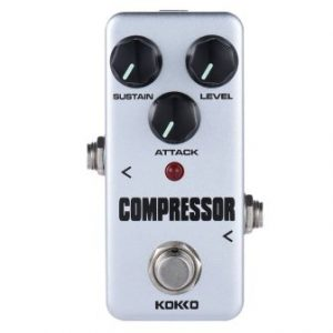 KOKKO FCP2 Mini Compressor Pedal from ammoon, Portable Guitar Effect Pedal