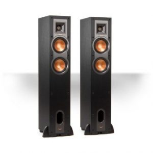 Klipsch R-24F Reference Floorstanding Speakers - Pair (Black)