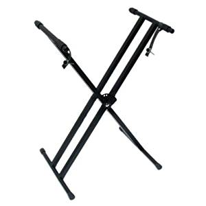 Kuyal Keyboard Stand Adjustable Metal Double-X Electronic Piano Stand