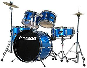 Ludwig Junior 5 Piece Drum Set with Cymbals – Top Pick
