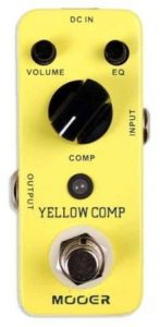 MCS2 Yellow Compression Effects Pedal from Mooer