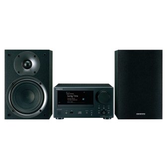 Onkyo Network Hi-Fi CD System Black (CS-N575)