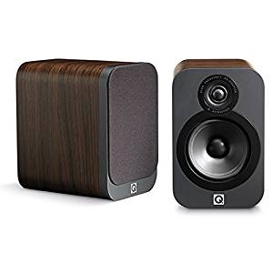 Q Acoustics 3020 Bookshelf Speakers (Pair) (American Walnut)