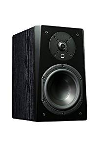 SVS Prime Bookshelf Speaker (Pair) – Premium Black Ash