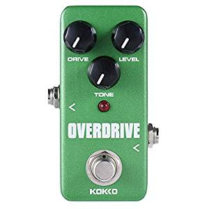 Top 15 Best Overdrive Pedals in 2018