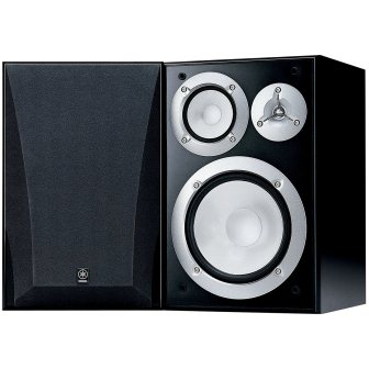 Yamaha NS-6490 3-Way Bookshelf Speakers Finish