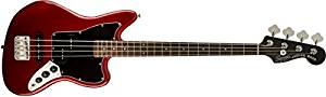 Squier by Fender Vintage SS Modified Special Jaguar Bass – Candy Apple Red