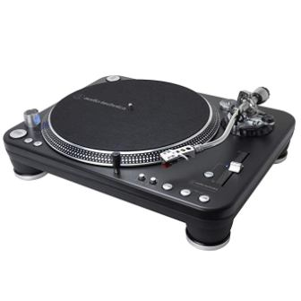 Audio Technica AT-LP1240-USB XP Direct-Drive Professional DJ Turntable