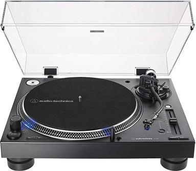 Audio-Technica AT-LP140XP-BK Direct-Drive Professional DJ Turntable