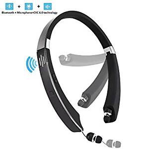Jisusu Bluetooth Headset with External Speaker