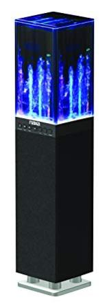 NAXA Electronics NHS-2009 Dancing Water Light Tower Speaker System with Bluetooth