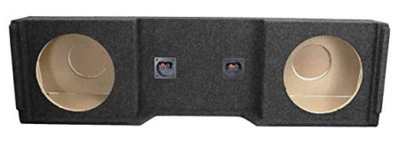 "Bbox – A152-12CP Dual 12"" Sealed Carpeted Subwoofer Enclosure"