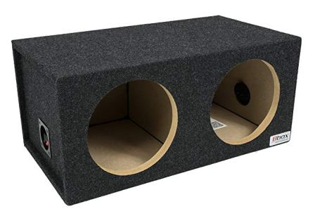 Bbox – E12D 12-Inch Dual Sealed Carpeted Subwoofer Enclosure