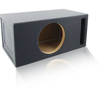 LAB PreFab – Ported/Vented MDF Single 12″ Round Subwoofer