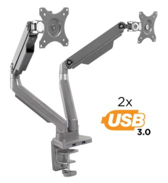 Mount-It! Dual Monitor Mount Arm