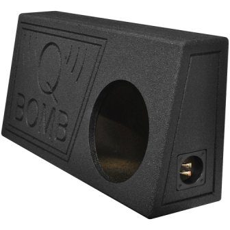 Q Power – QBTRUCK110 Vented Single 10-Inch Subwoofer Sub Box
