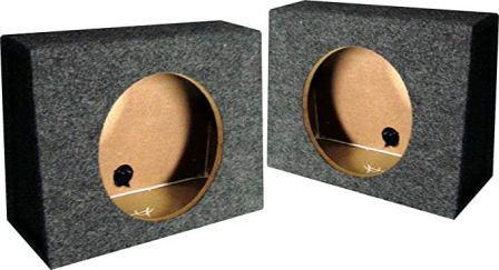 Q-power – QTW12 Single 12-Inch Sealed Truck Style Subwoofer Box