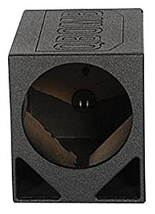 Rockville – RQ12TB Single 12″ Triangle Ported Subwoofer Bed Lined Enclosure