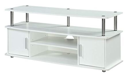 Convenience Concepts Designs2Go White Television Stand