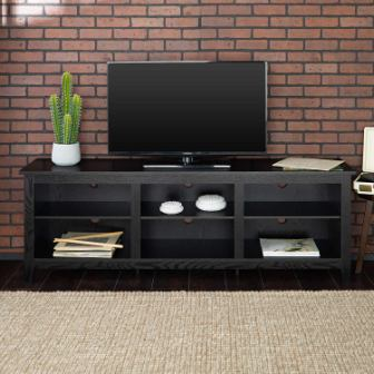 Home Accent Furnishings Black TV Stand
