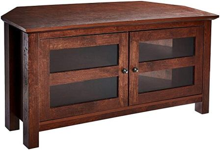 Rockpoint Adonia Corner TV Stand Media Console