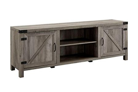 Walker Edison 70-inch Wood TV Stand