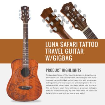 LUNA SAFARI SERIES MUSE IN MAHOGANY
