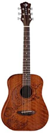 LUNA TATTOO SAFARI SERIES TRAVEL GUITAR