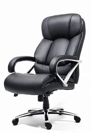 OFFICE FACTOR OF-BT150BK Leather Office Chair