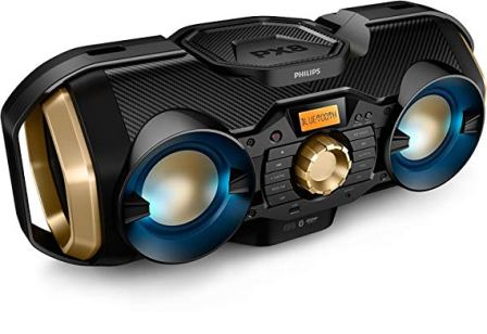 Philips Boombox with Bluetooth Speaker