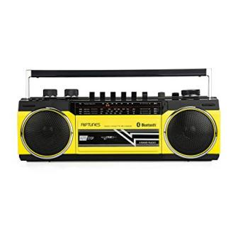 Riptunes Cassette Player Bluetooth Boombox