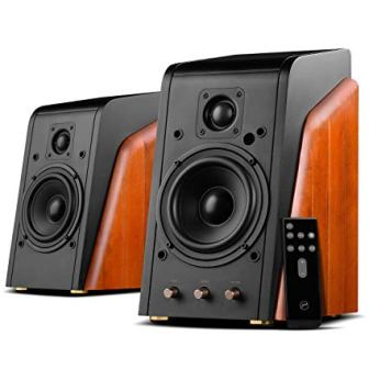 Swans Speakers-M200MKIII+-Powered 2.0 Bluetooth Bookshelf Speaker