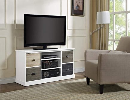 Top 15 Best White TV Stands in 2019 - Complete Guide